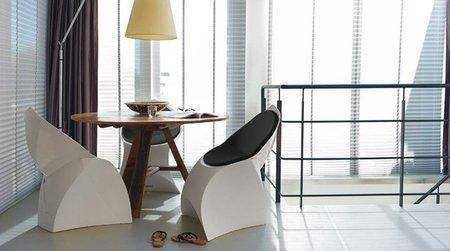 Flux, una silla de diseño plegable y ligera