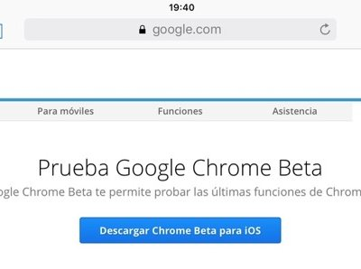 Google lanza el canal beta de Chrome en iOS