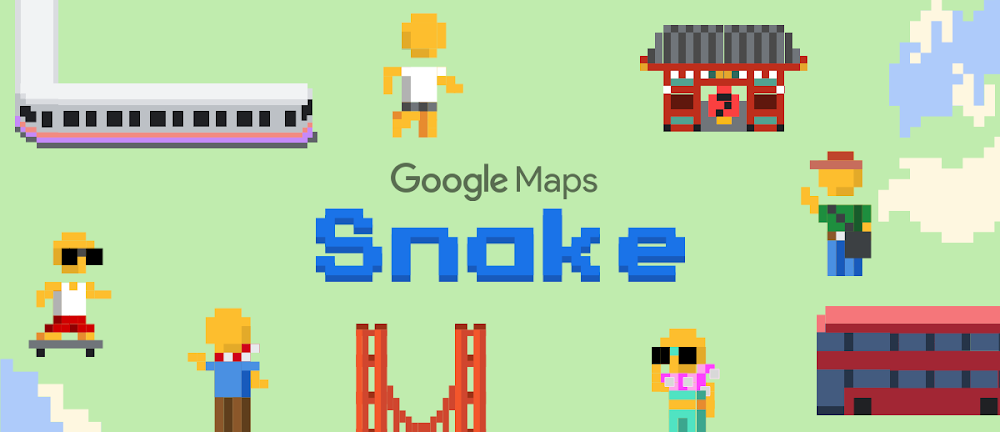 Google Maps Snake: so you'll be able to play this new version of the snake on your mobile