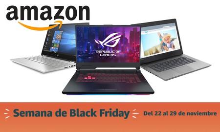 Black Friday 2019: las mejores ofertas en portátiles de Amazon. Modelos de ASUS, HP, Lenovo, Acer y MSI a precios rebajados
