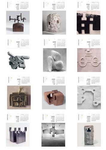 Ideas de decoración para regalar: calendario Chillida Leku