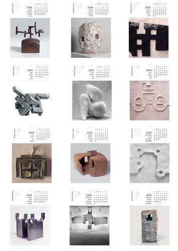 Ideas de decoración para regalar: calendario Chillida Leku
