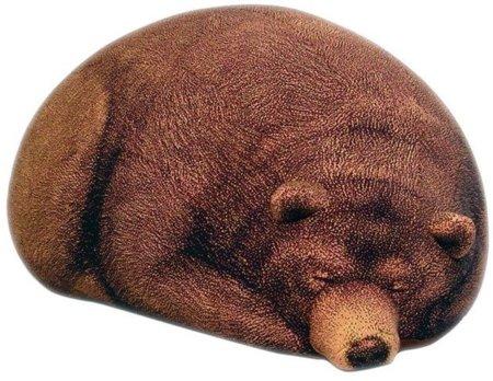 Puf con forma de oso, algo siniestro pero único
