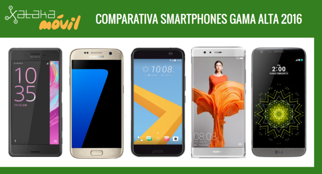 Comparataiva Moviles Gama Alta