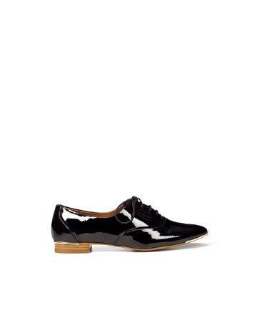 zapatos oxford zara