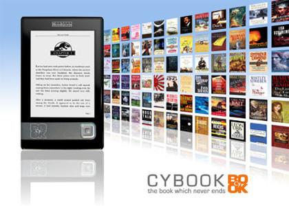 Cybook Gen3, otro lector de libros electrónicos