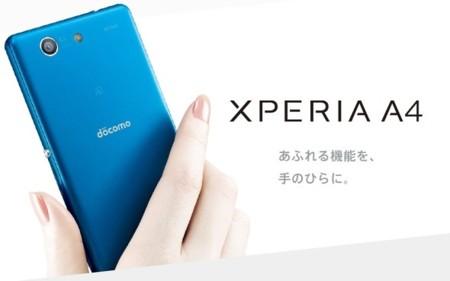 Sony Xperia A4 es como un nuevo Compact, se queda en Japón