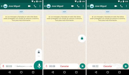 Bloqueo Grabación Android