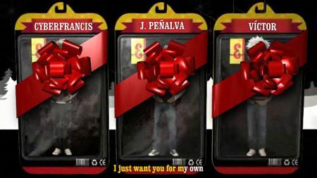 Postales navideñas animadas, para personalizar con fotos, vídeos, voz...