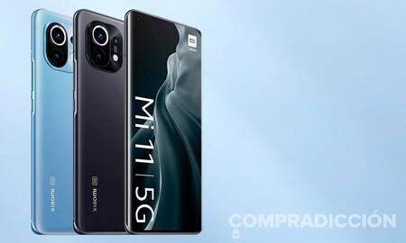 Un reciente gama alta como el Xiaomi Mi 11 con 5G cuesta ahora en Amazon menos que nunca: llévatelo por 95 euros menos
