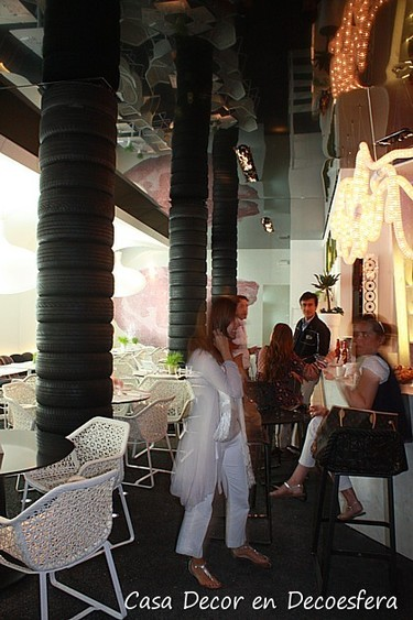 Casa Decor Madrid 2009. Cafetería restaurante por Pepe Leal