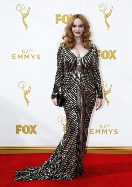 Christina Hendricks Emmys 2015