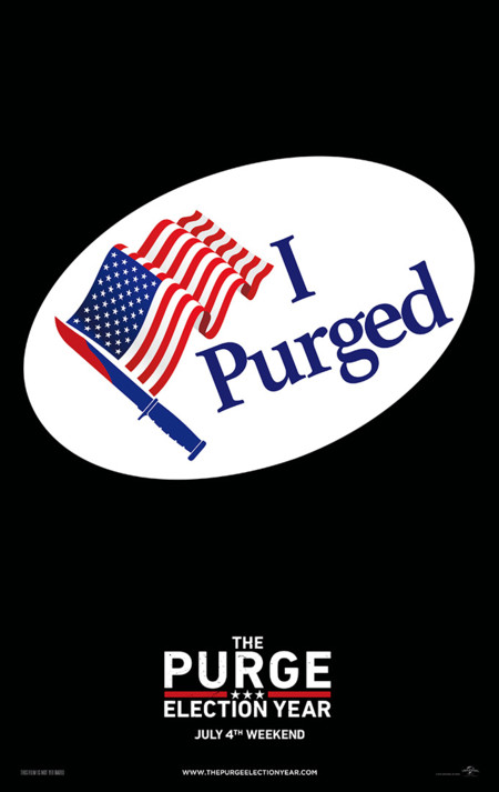 Teaser póster de Election: La Noche de las Bestias