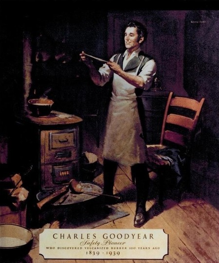 Large Charles Goodyear 1839