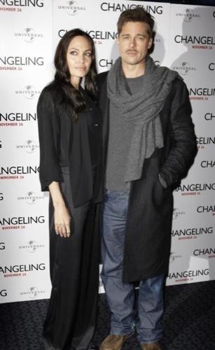Angelina Jolie y Brad Pitt en Londres, la pareja perfecta