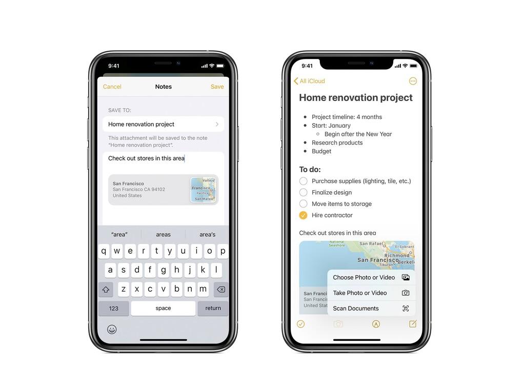 Así podemos utilizar un fondo claro en la app Notas a pesar del modo oscuro de nuestro iPhone o iPad
