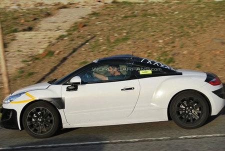 Peugeot 308 RC-Z, fotos espía más reveladoras