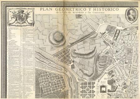 Villa De Madrid Y Sus Contornos 1761