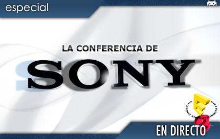 E3 2008: conferencia de Sony en directo