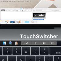 TouchSwitcher te permite cambiar fácilmente entre tus apps usadas recientemente en macOS desde la Touch Bar