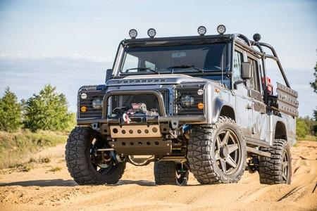 Land Rover Defender Project Viper, si deseas un vehículo para escapar a la montaña, el cielo escuchó tus plegarias