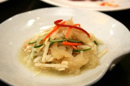 Korean Cuisine Haepari Naengchae 01