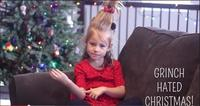 """Esta niña muda nos cuenta una increíble versión del cuento """"Como el Grinch robó la Navidad"""""""
