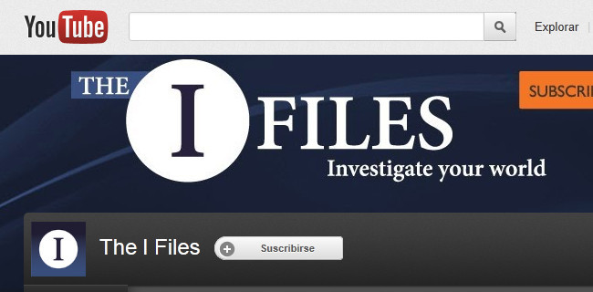 Canal en YouTube The I Files
