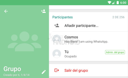 Whatsapp Grupo