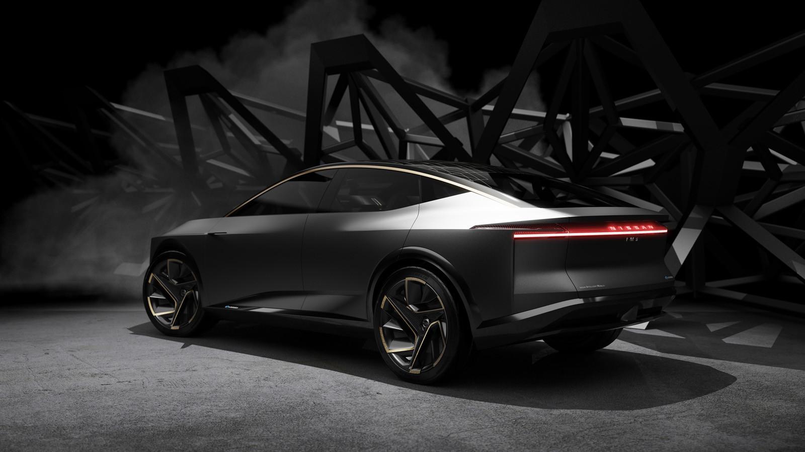 Foto de Nissan IMs EV Sports Sedan concept (12/31)