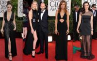 Globos de Oro 2013: el color negro fue el rey indiscutible de la alfombra roja