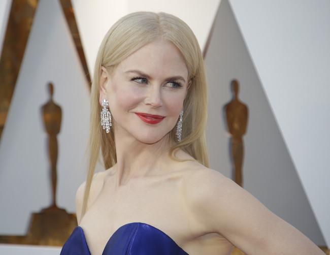 Oscars 2018: Nicole Kidman se une a la tendencia de las melenas lisas