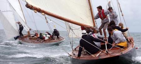Lancel Classic 2010: regata anual de vela clásica en Noirmoutier, Francia