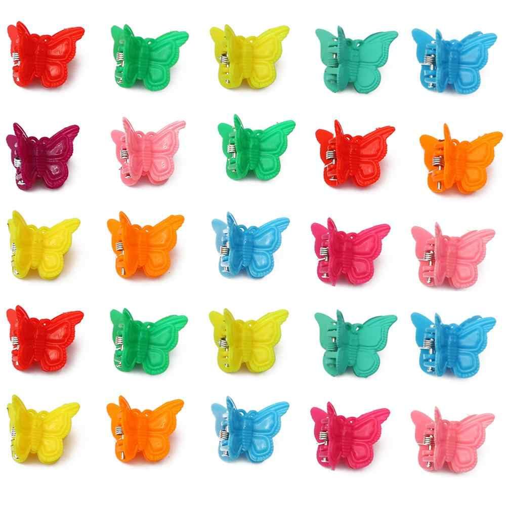 Pinzas de mariposas de colores