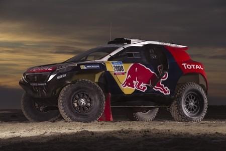 Peugeot presenta los colores oficiales de su 2008 DKR