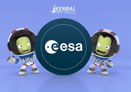 Podrás jugar a dos misiones espaciales reales de la Agencia Espacial Europea en el popular videojuego 'Kerbal Space Program'