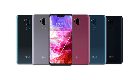 Lg G7 Thinq Render Oficial Colores