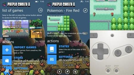 Purple Cherry X