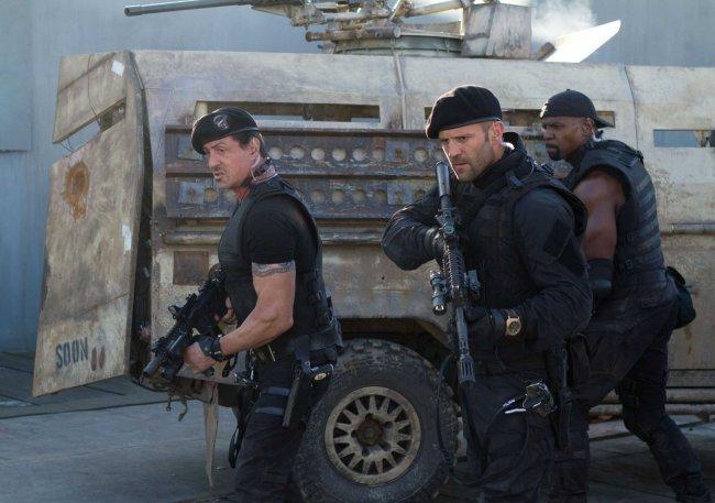 Imagen de la película 'Los Mercenarios 2'