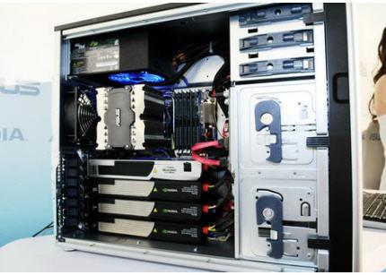 Asus ESC 1000, su primer superordenador