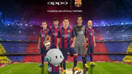 Oppo se convierte en patrocinador del FC Barcelona