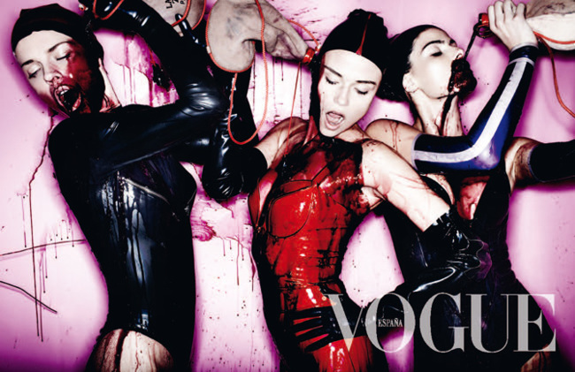 Adriana portada Vogue España