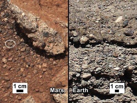 'Curiosity' encuentra pruebas de que en Marte hubo agua