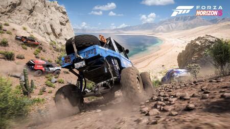 Forza Horizon 5 reaparece con casi una hora de gameplay dedicado a sus modos y características multijugador