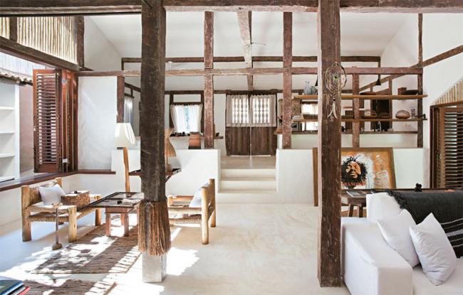 Decoracion Rustica Para Casas De Playa ~ Maravillosa casa en la playa de estilo r?stico