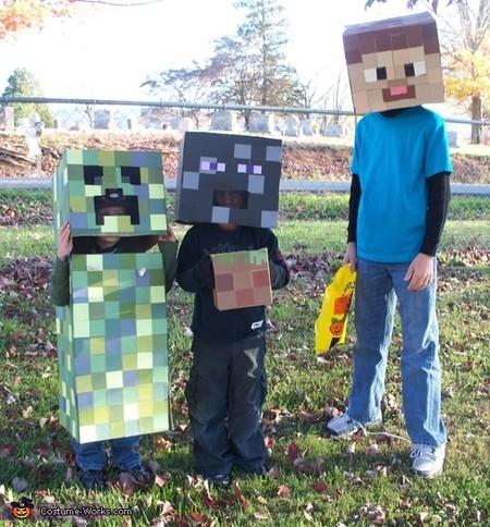 Disfraces Faciles Rapidos Ninos Carnaval Minecraft