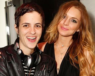 Lindsay Lohan y Samantha Ronson se reconcilian
