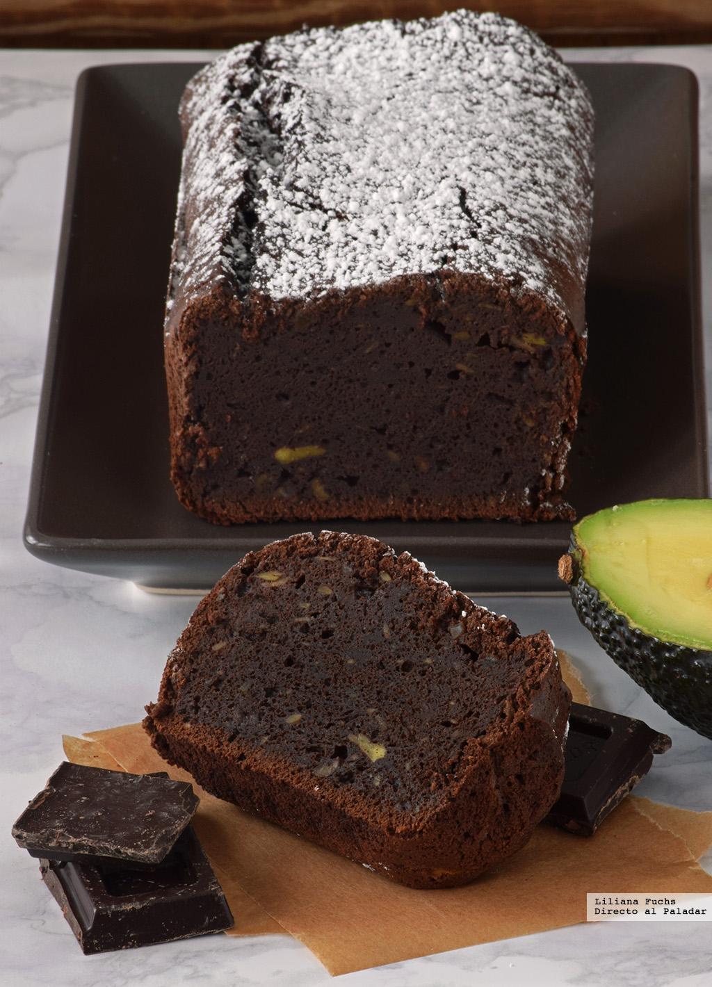 Bizcocho Fondant De Chocolate Y Aguacate Receta De Postre