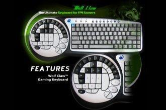 Un teclado para jugones