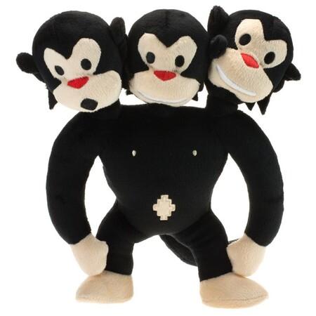 Peluche Mono Tres Cabezas